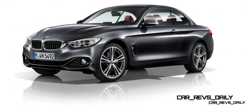 2014 BMW 428i and 435i Make Beautiful, Practical Convertibles 17
