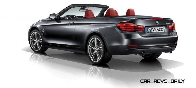 2014 BMW 428i and 435i Make Beautiful, Practical Convertibles 18