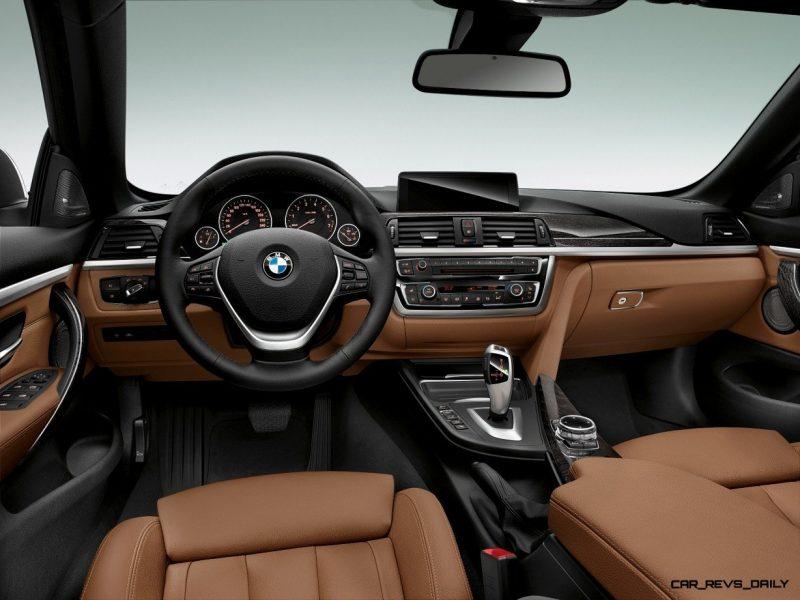 2014 BMW 428i and 435i Make Beautiful, Practical Convertibles 27