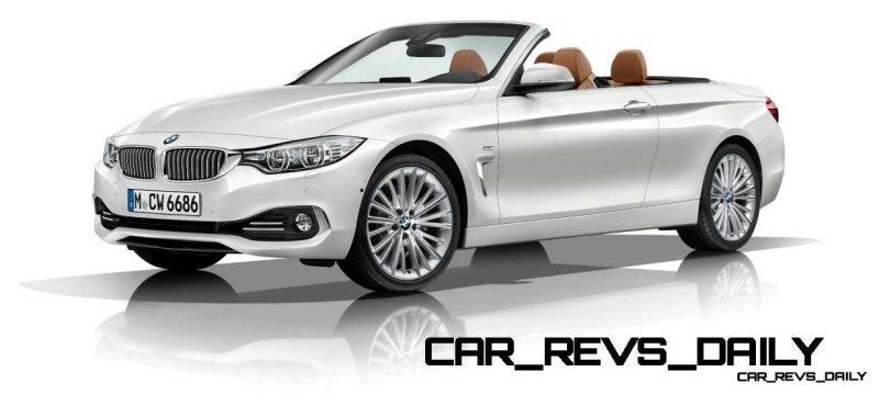 2014 BMW 428i and 435i Make Beautiful, Practical Convertibles 28