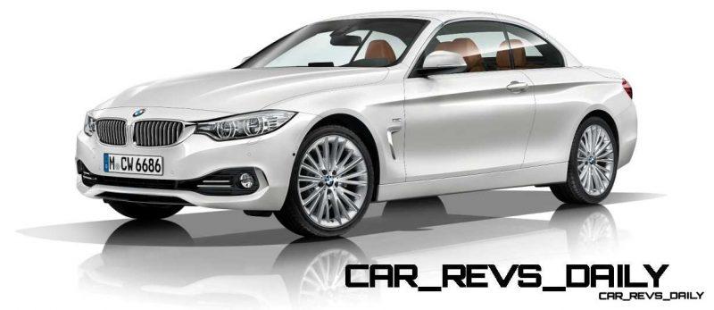 2014 BMW 428i and 435i Make Beautiful, Practical Convertibles 29