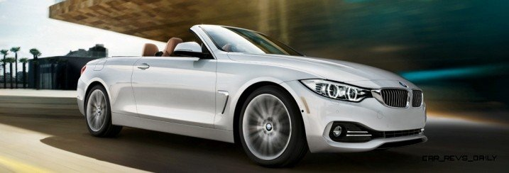 2014 BMW 428i and 435i Make Beautiful, Practical Convertibles 3
