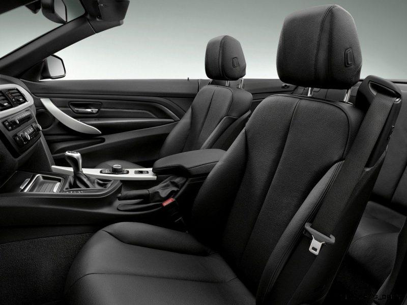 2014 BMW 428i and 435i Make Beautiful, Practical Convertibles 30