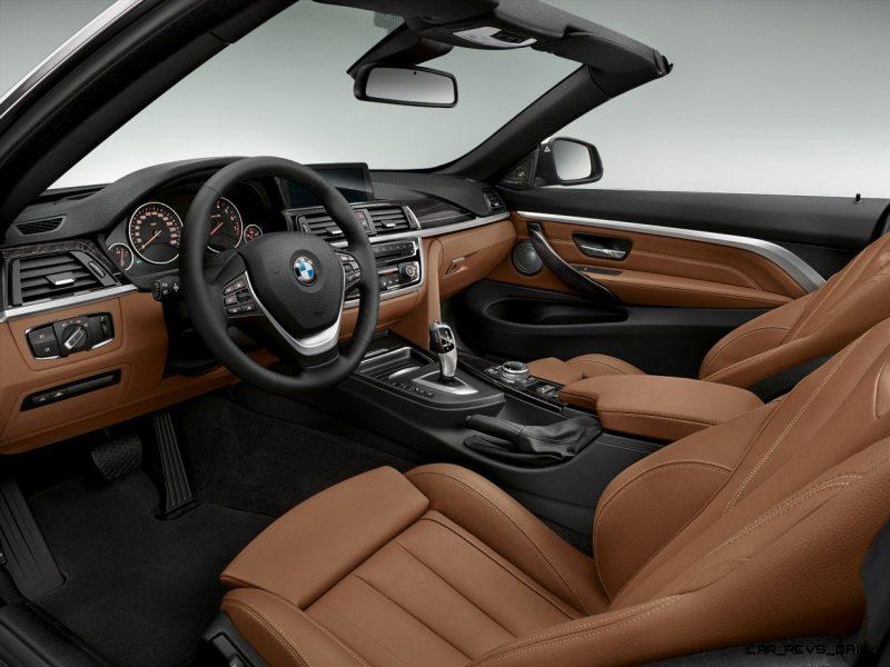 2014 BMW 428i and 435i Make Beautiful, Practical Convertibles 31