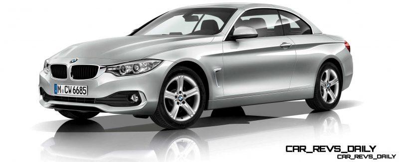 2014 BMW 428i and 435i Make Beautiful, Practical Convertibles 33