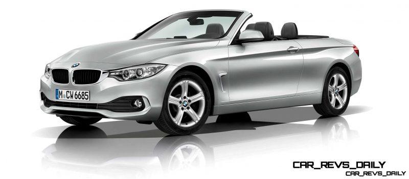 2014 BMW 428i and 435i Make Beautiful, Practical Convertibles 34