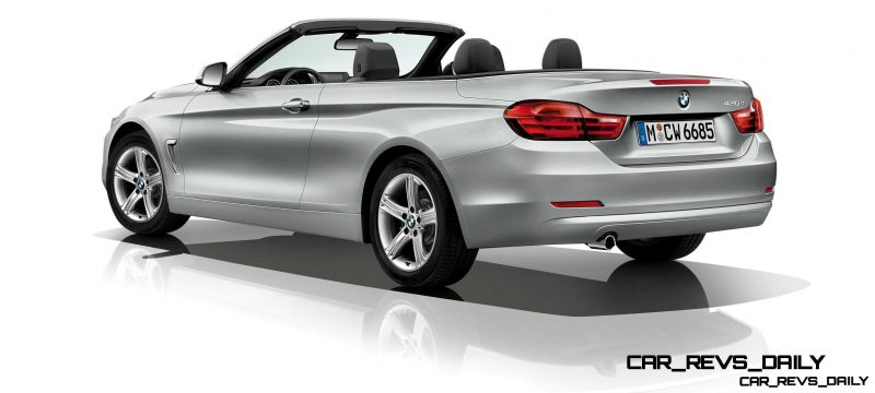 2014 BMW 428i and 435i Make Beautiful, Practical Convertibles 35