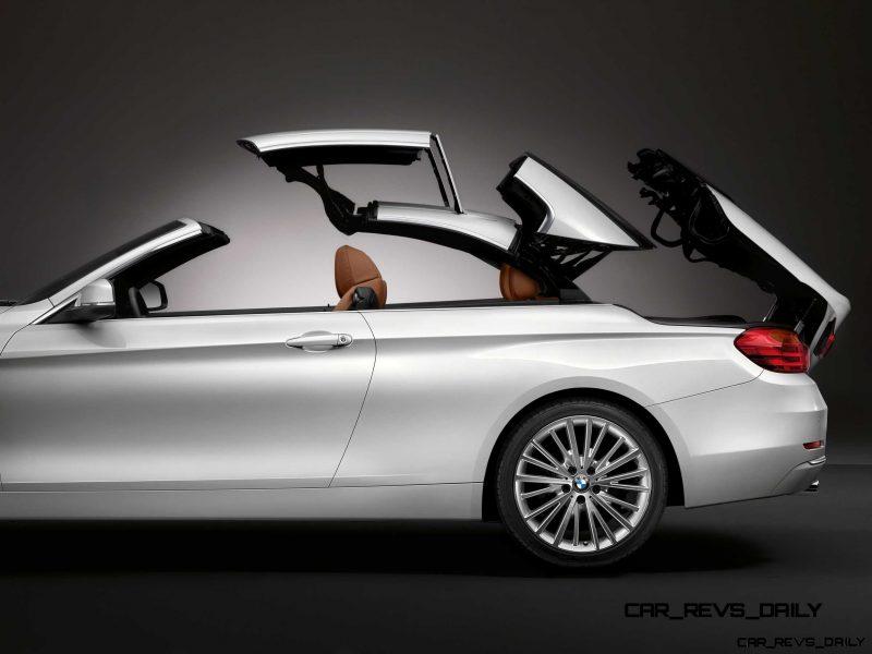 2014 BMW 428i and 435i Make Beautiful, Practical Convertibles 37