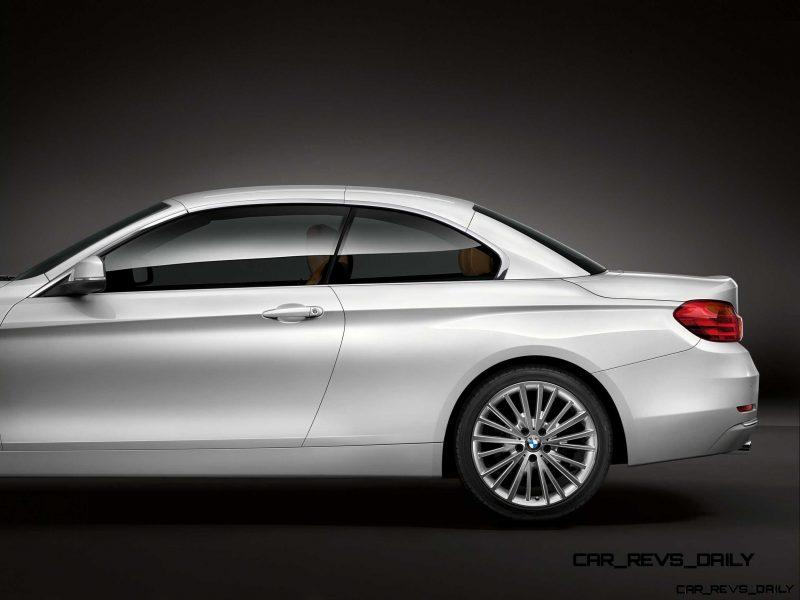 2014 BMW 428i and 435i Make Beautiful, Practical Convertibles 38