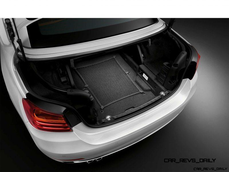 2014 BMW 428i and 435i Make Beautiful, Practical Convertibles 39