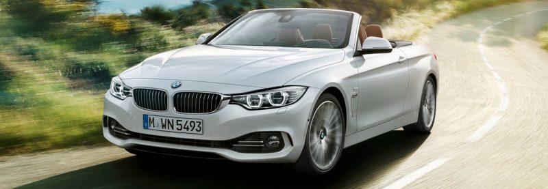 2014 BMW 428i and 435i Make Beautiful, Practical Convertibles 4