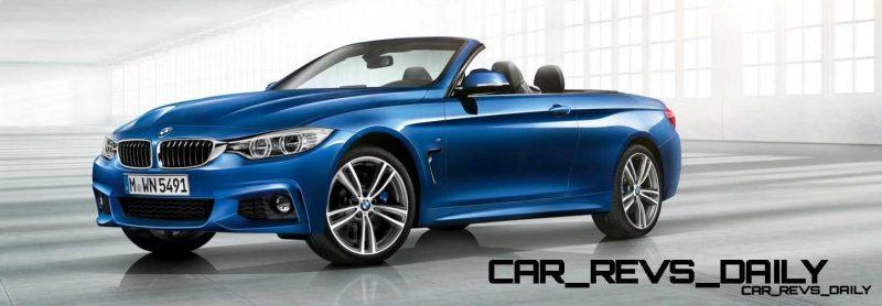 2014 BMW 428i and 435i Make Beautiful, Practical Convertibles 44