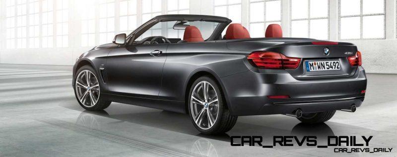 2014 BMW 428i and 435i Make Beautiful, Practical Convertibles 45