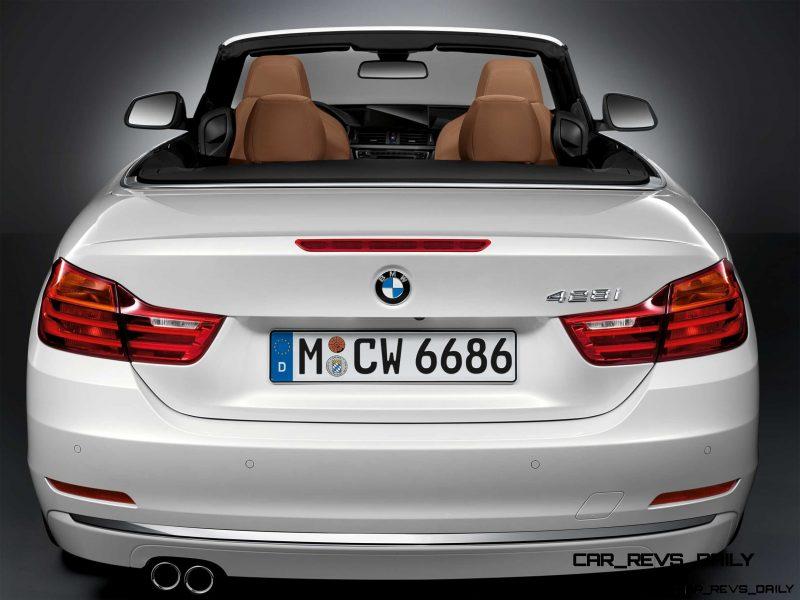 2014 BMW 428i and 435i Make Beautiful, Practical Convertibles 47