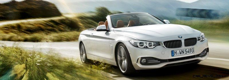 2014 BMW 428i and 435i Make Beautiful, Practical Convertibles 5