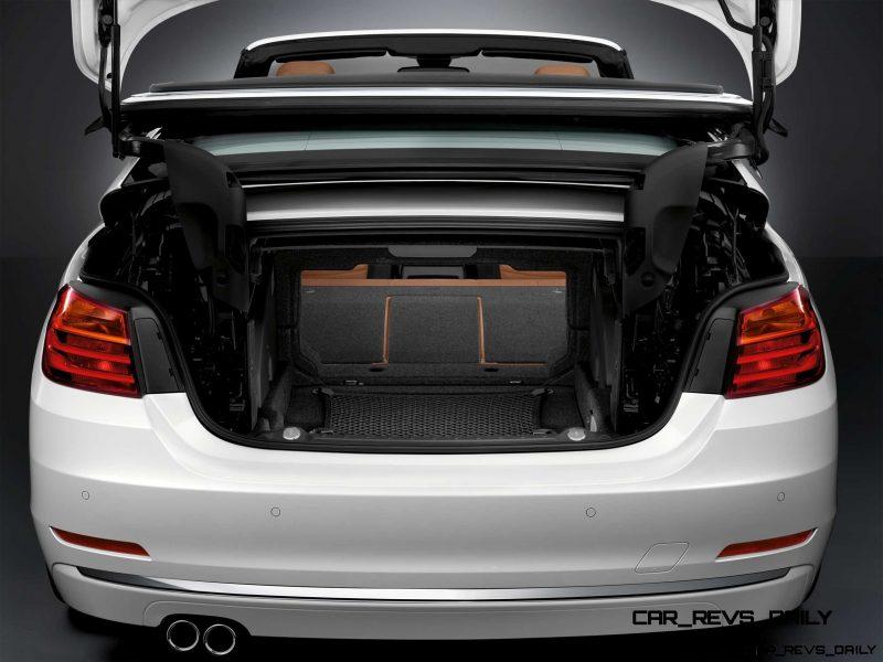 2014 BMW 428i and 435i Make Beautiful, Practical Convertibles 50