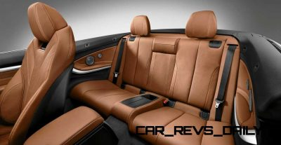 2014 BMW 428i and 435i Make Beautiful, Practical Convertibles 52