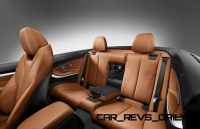 2014 BMW 428i and 435i Make Beautiful, Practical Convertibles 53