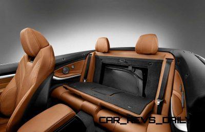 2014 BMW 428i and 435i Make Beautiful, Practical Convertibles 54