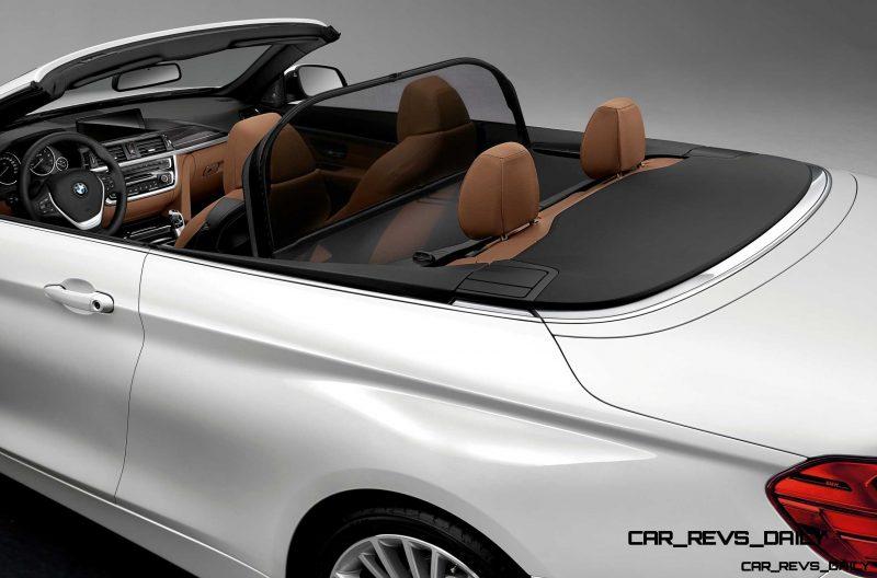 2014 BMW 428i and 435i Make Beautiful, Practical Convertibles 55
