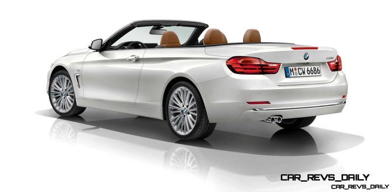 2014 BMW 428i and 435i Make Beautiful, Practical Convertibles 56