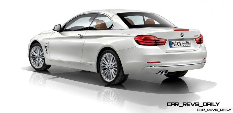 2014 BMW 428i and 435i Make Beautiful, Practical Convertibles 57