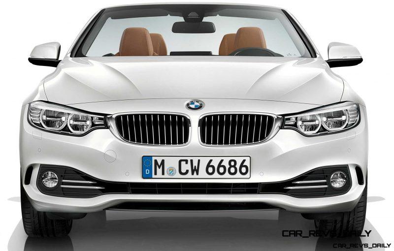 2014 BMW 428i and 435i Make Beautiful, Practical Convertibles 58