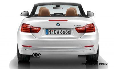 2014 BMW 428i and 435i Make Beautiful, Practical Convertibles 60