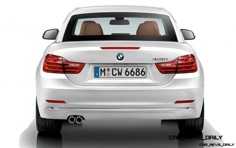 2014 BMW 428i and 435i Make Beautiful, Practical Convertibles 61