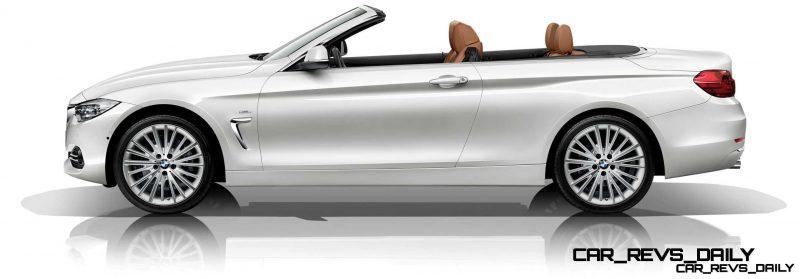 2014 BMW 428i and 435i Make Beautiful, Practical Convertibles 62