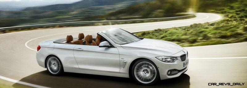 2014 BMW 428i and 435i Make Beautiful, Practical Convertibles 7
