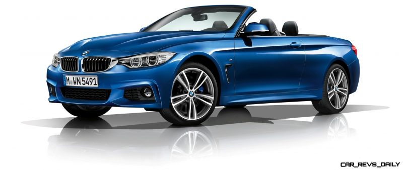 2014 BMW 428i and 435i Make Beautiful, Practical Convertibles 8