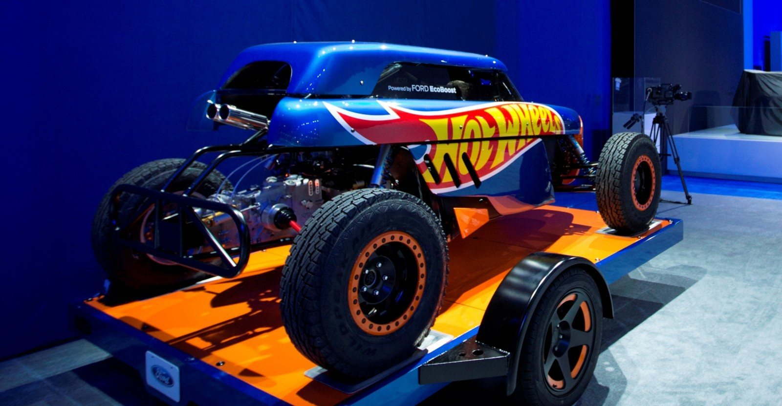 2014 Ford Transit Connect Hot Wheels Concept Shows