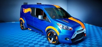 Ford?s 2014 Transit Connect Sizzles for SEMA Courtesy of Hot Wheels®