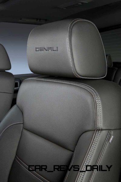 2014 GMC Sierra Denali Embossed Leather Heated Front Seat