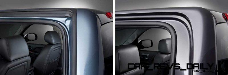 2014 GMC Sierra Inlay Door Detail