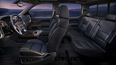2014 GMC Sierra SLT Interior Profile from Driver's side