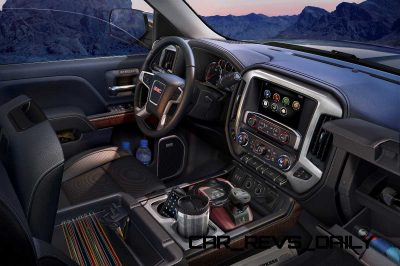 2014 GMC Sierra SLT Interior detail