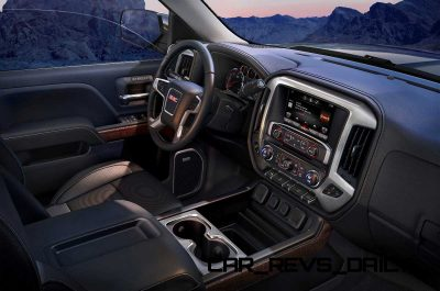 2014 GMC Sierra SLT Interior  from passenger seat