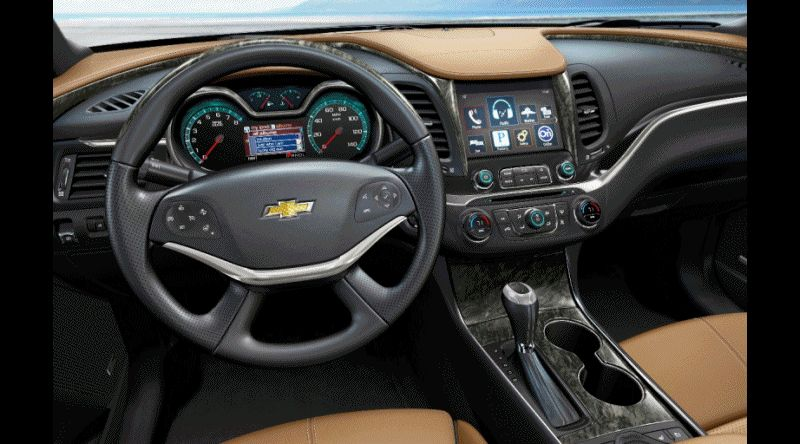 2014 IMPALA Interior Animated GIF