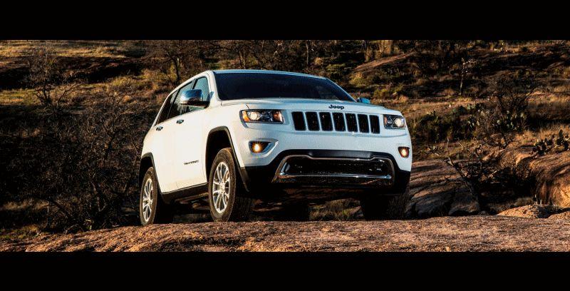 2014 Jeep Grand Cherokee Laredo Animation