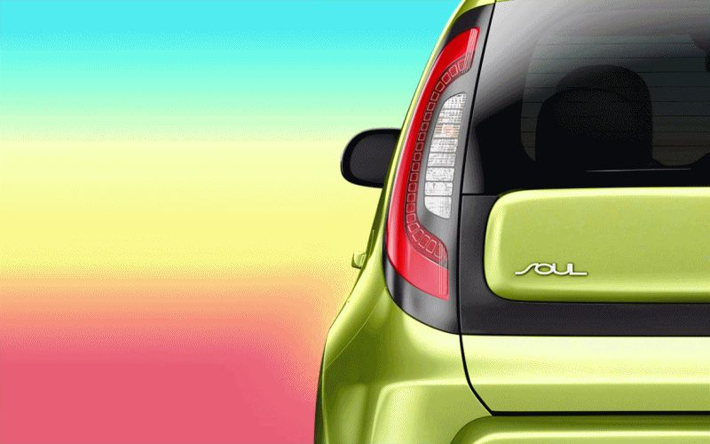 2014 Kia Soul LED Animated GIF