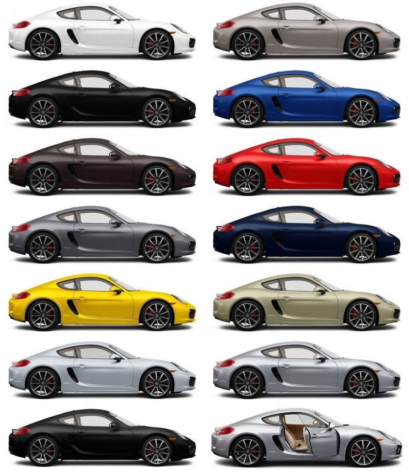 2014 Porsche Cayman S - COLORS 10-tile