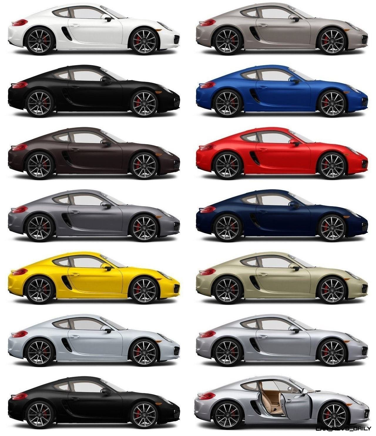 2014 Porsche Cayman Cayman S Colors Specs And 88 Photos
