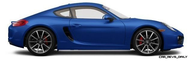 2014 Porsche Cayman S - COLORS 13