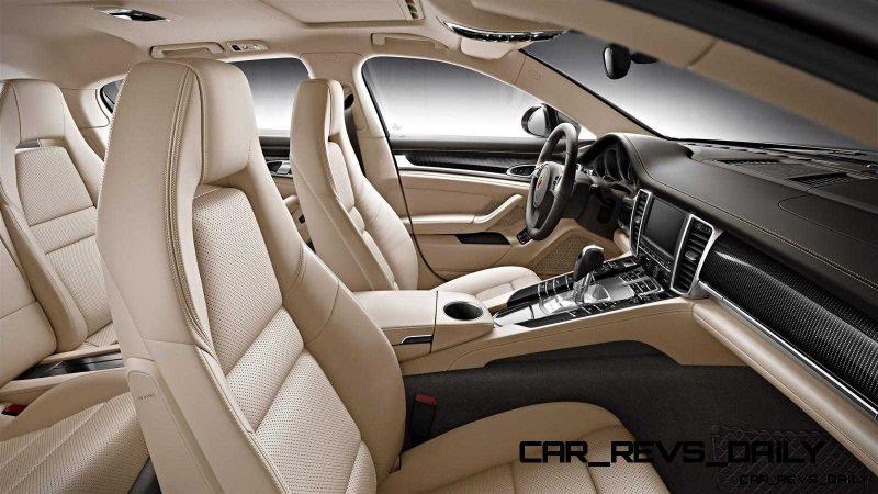 2014 Porsche Panamera Buyers Guide - Interiors 12