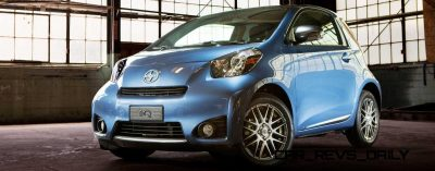 2014 Scion iQ Glams Up With Two-Tone EV and Monogram Editions 1