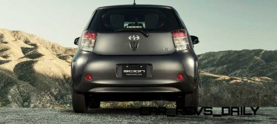 2014 Scion iQ Glams Up With Two-Tone EV and Monogram Editions 13