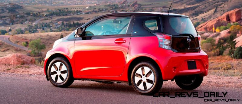2014 Scion iQ Glams Up With Two-Tone EV and Monogram Editions 20