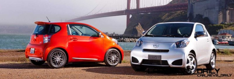 2014 Scion iQ Glams Up With Two-Tone EV and Monogram Editions 3